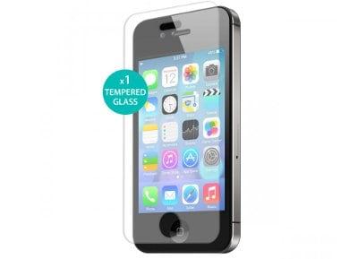 Μεμβράνη οθόνης iPhone 4/4s - Puro Tempered Glass Screen Protector - 1 τεμ apple   αξεσουάρ iphone   θήκες
