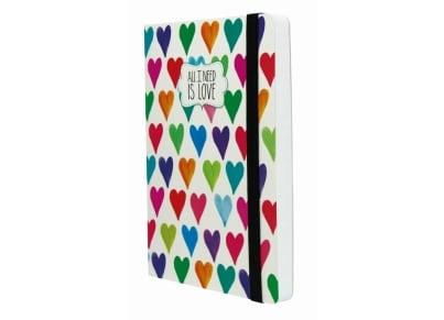 Σημειωματάριο Legami Heart - Large