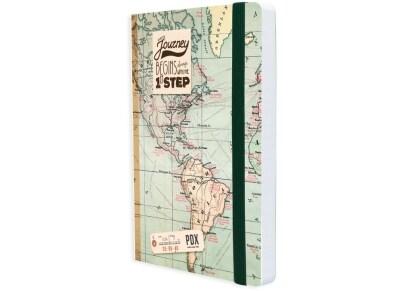 Σημειωματάριο Legami Map 12.8x17.8cm (NOTP0008)
