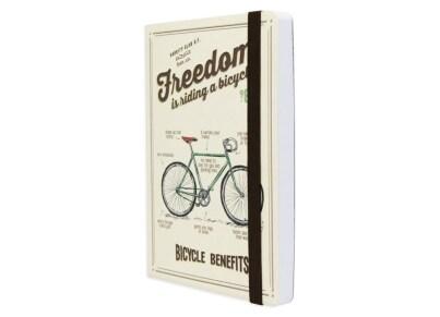 Σημειωματάριο Legami Bike 12.8x17.8cm (NOTP0009)