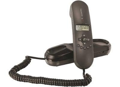 Alcatel Temporis 07 Ενσύρματο Τηλέφωνο Μαύρο ALCT07BLKGR