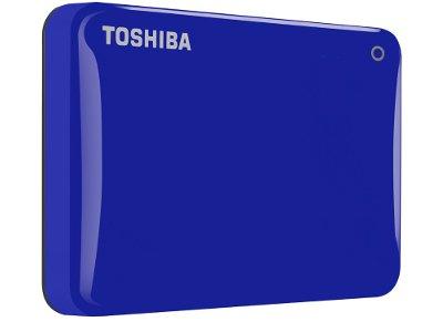 """Εξ. σκληρός δίσκος Toshiba Canvio Connect II 500GB HDTC805EL3AA 2.5"""" USB 3.0 Μπλε"""