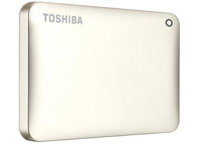 """Εξ. σκληρός δίσκος Toshiba Canvio Connect II 2TB HDTC820EC3CA 2.5"""" USB 3.0 Χρυσό"""