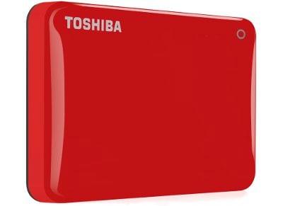 """Εξ. σκληρός δίσκος Toshiba Canvio Connect II 2TB HDTC820ER3CA 2.5"""" USB 3.0 Κόκκινο"""