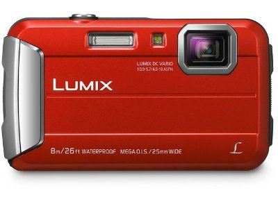 Camera Panasonic Lumix DMC FT30EG R Αδιάβροχη - Κόκκινο