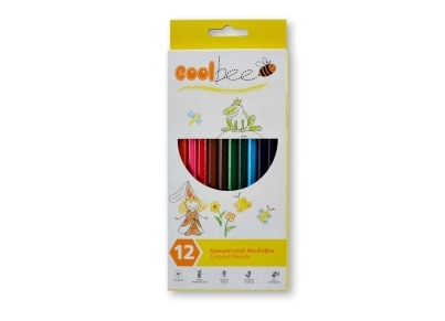 Ξυλομπογιές Coolbee (12 τεμάχια)