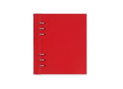 Σημειωματάριο Α5 με Κρίκους Filofax Κόκκινο