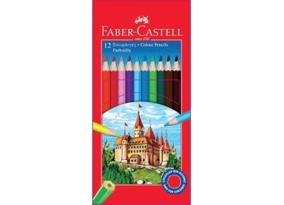 Ξυλομπογιές Faber Castell TR1158 (12 τεμάχια).