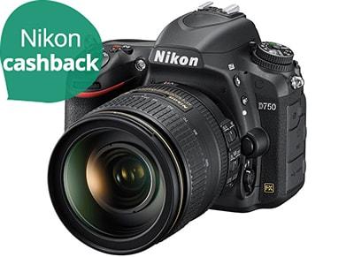 DSLR Nikon D750 24-120mm - Μαύρο
