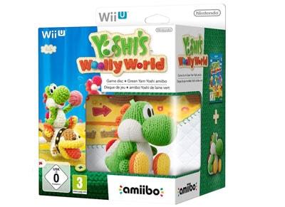 Yoshi's Woolly World & amiibo Yoshi Yarn Πράσινο - Wii U Game