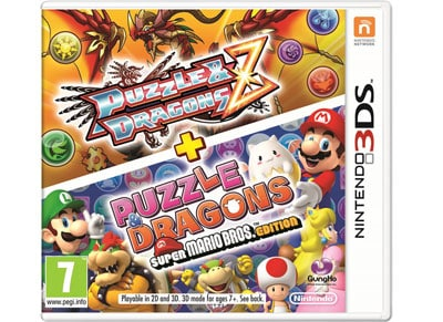 Puzzle & Dragons + Puzzle & Dragons Super Mario Bros Edition - 3DS Game gaming   παιχνίδια ανά κονσόλα   3ds 2ds