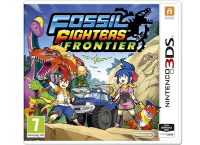 Fossil Fighters Frontier - 3DS/2DS Game