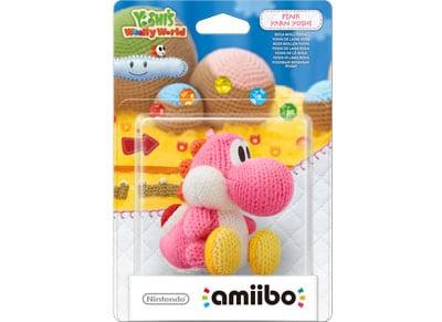 Φιγούρα Yarn Yoshi Ροζ - Nintendo Amiibo gaming   αξεσουάρ κονσολών   ps3    φιγούρες παιχνιδιού