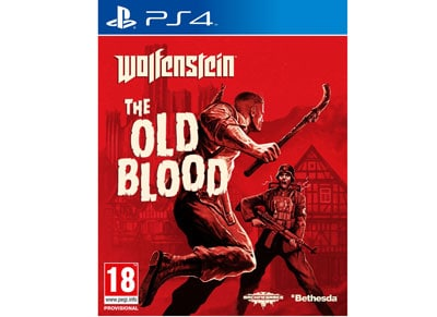 Wolfenstein The Old Blood - PS4 Game gaming   παιχνίδια ανά κονσόλα   ps4