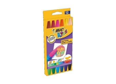 Λαδοπαστέλ BIC Kids (12 τεμάχια)