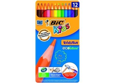 Ξυλομπογιές Bic Kids Evolution (12 τεμάχια)