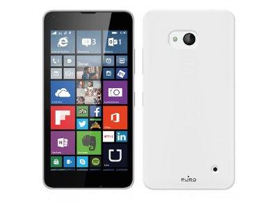 Θήκη Nokia Lumia 640 - Puro Silicon Cover Διαφανές MSLUMIA640STR