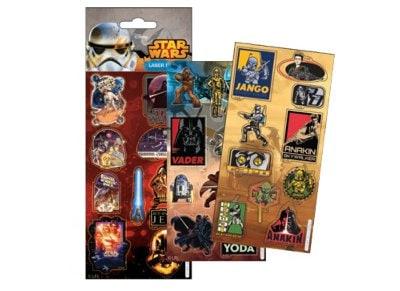 Αυτοκόλλητα Laser Star Wars (777-70010)