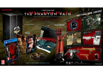 Metal Gear Solid V Phantom Pain Collectors Edition - Xbox One Game