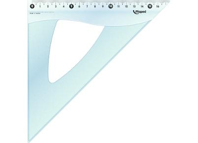 Τρίγωνο Maped Cristal 146 26 cm - 45° (1 τεμάχιο)