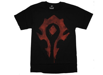 T-Shirt Jinx WOW Horde Spray Μαύρο - L gaming   gaming cool stuff