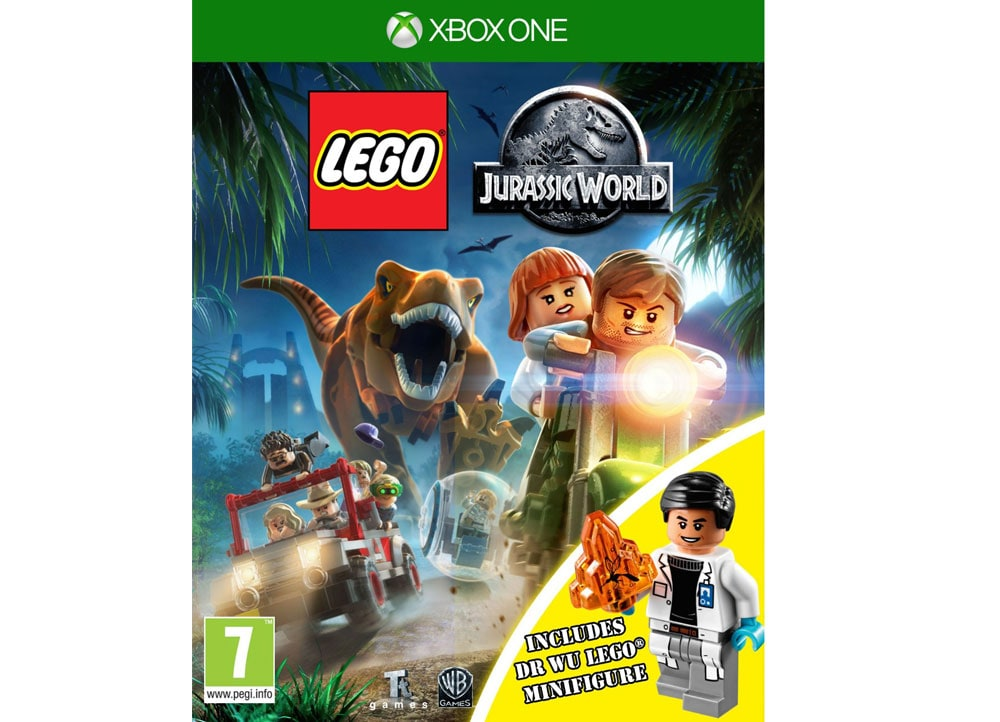 Lego Games For Xbox 1 : Lego jurassic world Φιγούρα xbox one game public
