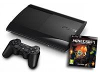 Sony PlayStation 3 Super Slim 12GB & Minecraft