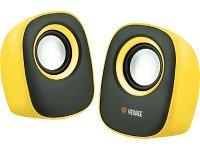 Ηχεία 2.0 Yenkee Stereo YSP2001YW Κίτρινο