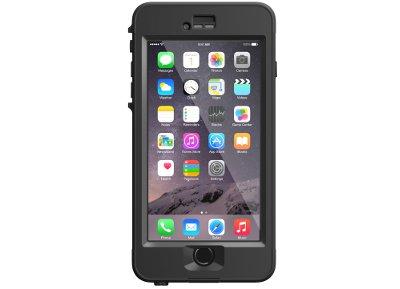 Αδιάβροχη Θήκη iPhone 6/6S Plus - LifeProof nuud 77-50369 Μαύρο