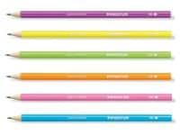 Μολύβι Staedtler - 2ΗΒ Διάφορα Χρώματα - Neon Wopex (1 Τεμάχιο)