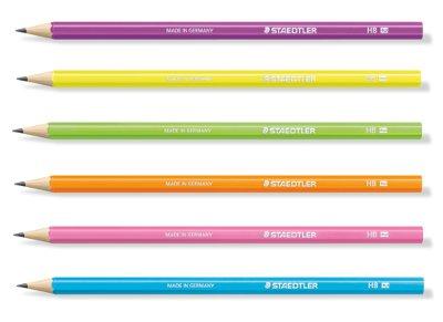 Μολύβι Ξύλινο Neon Wopex Staedtler HB (1 Τεμάχιο)