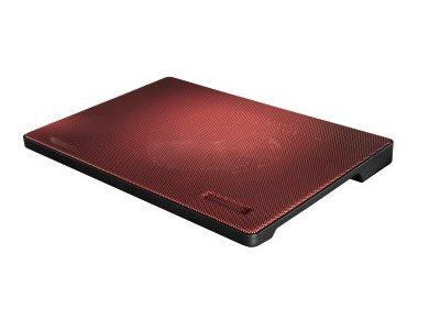 """Βάση Laptop Cooler Hama 15.6"""" Slim Κόκκινο"""