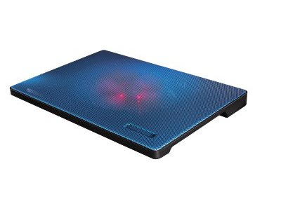 "Βάση Laptop Cooler Hama 15.6"" Slim Μπλε"