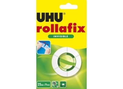 Κολλητική Ταινία UHU Rollafix Αόρατη 25 x 19mm