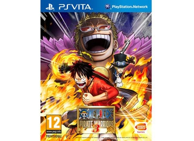 One Piece Pirate Warriors 3 - PS Vita Game
