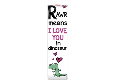 Σελιδοδείκτης Legami Rawr Means I Love You In Dinosaur