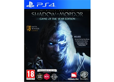 Middle Earth Shadow Of Mordor (Game of the Year) - PS4 Game