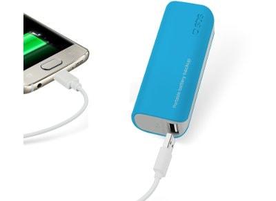 Powerbank USB SBS Portable Battery Backup 2000 mAh Μπλε
