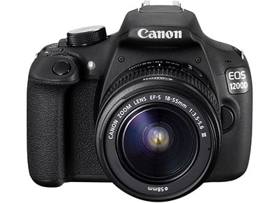 DSLR Canon EOS 1200D Kit 18-55mm III - Μαύρο