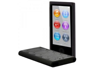 Θήκη iPod Nano 7 Puro Silicon Cover NANO7SBLK Μαύρο