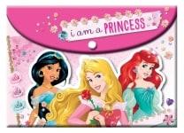 Φάκελος GIM Princess A4 με κουμπί (331-47580)