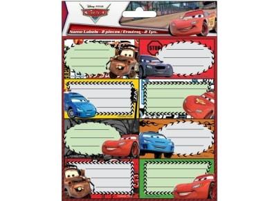 Αυτοκόλλητες ετικέτες Cars (772-16146)