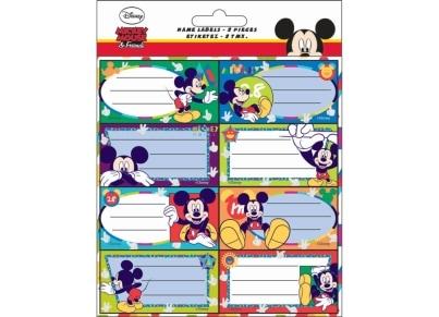 Αυτοκόλλητες ετικέτες Mickey (773-12746)