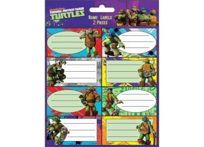 Αυτοκόλλητες ετικέτες Ninja Turtles (774-02246)