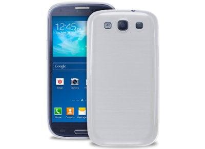 Θήκη & Μεμβράνη Samsung Galaxy S3 - Puro 0.3 Ultra Slim Cover Ημιδιαφανές Λευκό  τηλεφωνία   tablets   αξεσουάρ κινητών   θήκες