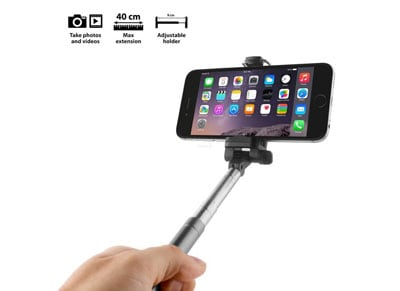 Selfie Stick - Smartline Pocket Selfie Χρυσό SLSELFIEMONOPOD1GOLD