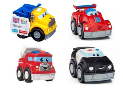 Fisher Price Mega Bloks Αυτοκινητάκια - 1 τεμάχιο (CXN72)