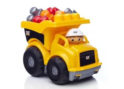 Fisher Price Mega Bloks Μεγάλο Φορτηγό CAT (CND88)