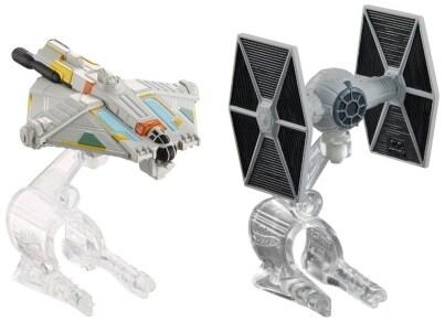 Hot Wheels Star Wars Διαστημόπλοια - 2 τεμάχια (CGW90)