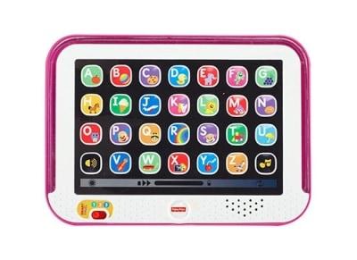 Fisher Price Laugh & Learn Εκπαιδευτικό Tablet-Ροζ (DKK07)